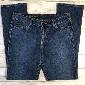 Talbots | Heritage Straight Leg Jeans | Size 8P/29